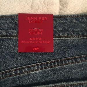 Jennifer Lopez Shorts - Women's Jean Shorts